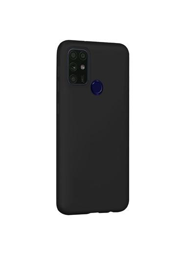 Microsonic Microsonic Casper Via F20 Mat Silikon Telefon Kılıfı Siyah